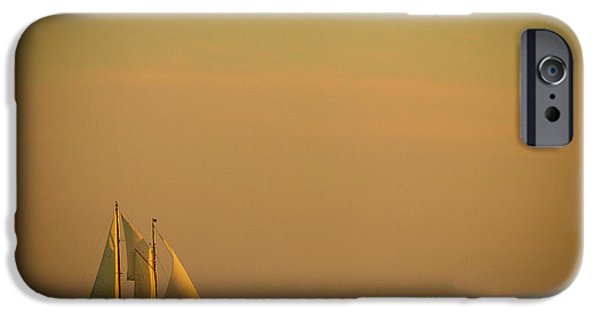 Sailboats iPhone Cases - Sails iPhone Case by Sebastian Musial