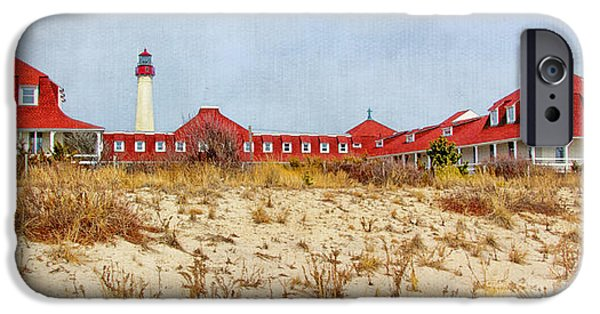 Buildings By The Ocean iPhone Cases - Saint Mary by-the-Sea iPhone Case by Carolyn Derstine