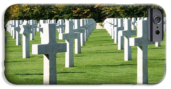 IPhone 6 Case featuring the photograph Saint Mihiel American Cemetery by Travel Pics