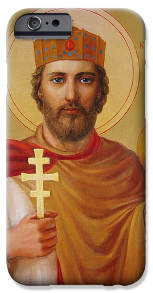 Saint Volodymyr iPhone Case by Svitozar Nenyuk