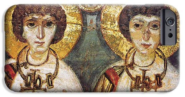 7th iPhone Cases - Saints Sergius And Bacchus iPhone Case by Granger