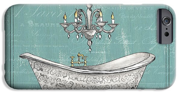 Faucet iPhone Cases - Salle de Bain iPhone Case by Debbie DeWitt