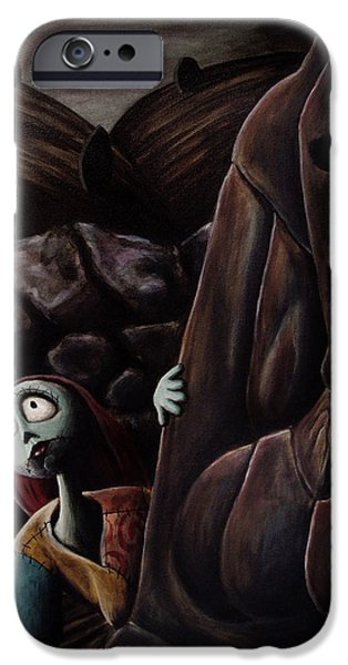 Animation iPhone Cases - Sally iPhone Case by Marlon Huynh