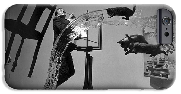 Surrealism Photographs iPhone Cases - Salvador Dali 1904-1989 iPhone Case by Granger