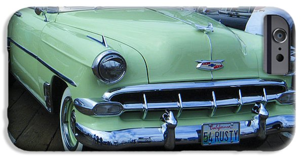 Old Cars iPhone Cases - Same Name As My Father iPhone Case by Tamara Kulish