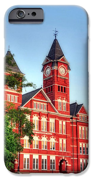 Auburn iPhone Cases - Samford Hall iPhone Case by JC Findley
