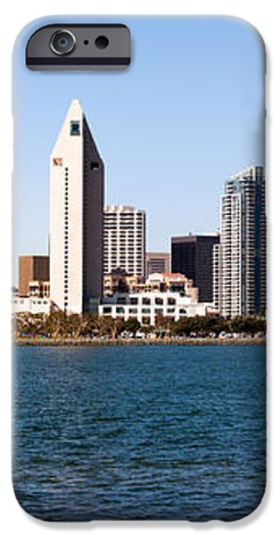 San Diego Panorama iPhone Case by Paul Velgos