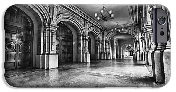 Historic Buildings iPhone Cases - San Diegos Historic Balboa Park iPhone Case by Larry Marshall