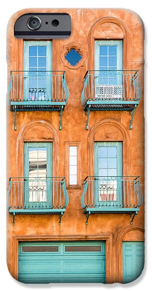 Balcony iPhone Cases - San Francisco Architecture 1 iPhone Case by Patti Deters