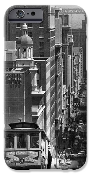 San Francisco Street iPhone Cases - SAN FRANCISCO, c1950 iPhone Case by Granger