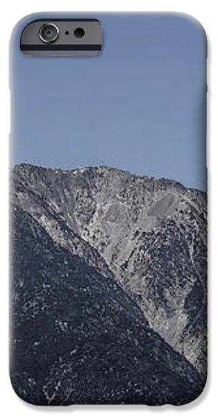 San Gabriel Mountains iPhone Case by Viktor Savchenko