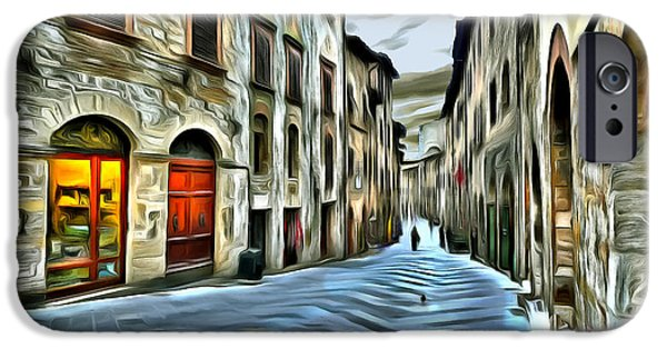 Historic Site iPhone Cases - San Gimignano iPhone Case by Jean-Marc Lacombe
