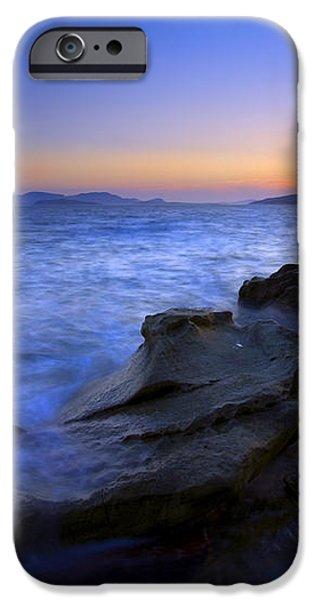 San Juan sunset iPhone Case by Mike  Dawson