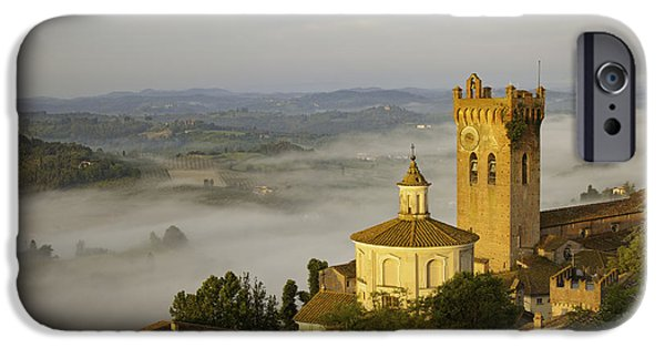 Recently Sold -  - Mist iPhone Cases - San Miniato iPhone Case by Brian Jannsen