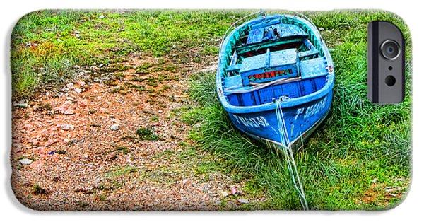 Village iPhone Cases - San Vicente de la Barquera_IMG_7972a iPhone Case by Diana Sainz