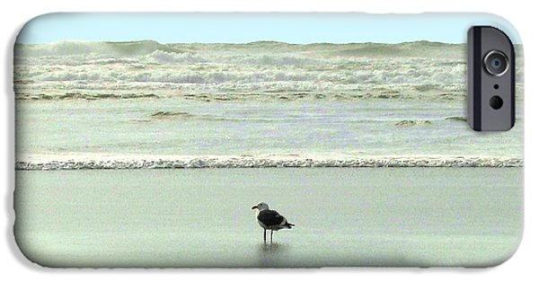 Intrigue iPhone Cases - Sand And Sea 8 iPhone Case by Will Borden