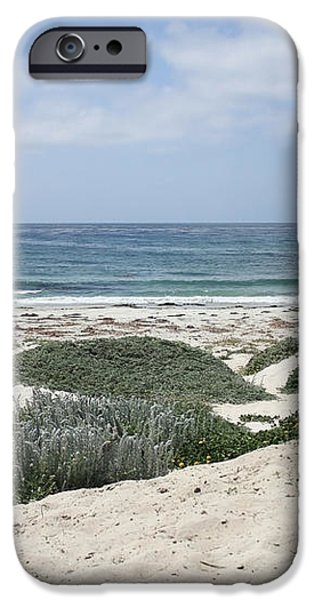 Sand and Sea iPhone Case by Carol Groenen