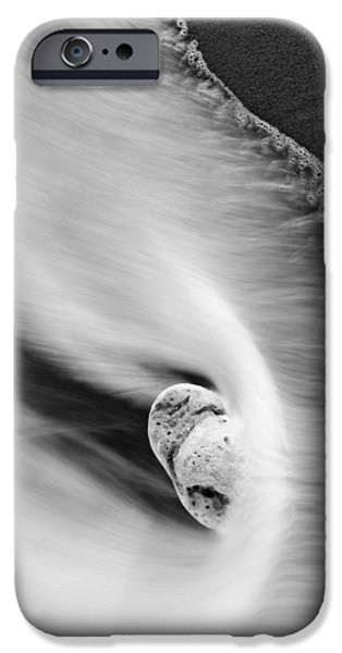 Spray iPhone Cases - Sand and Sea iPhone Case by Mike  Dawson