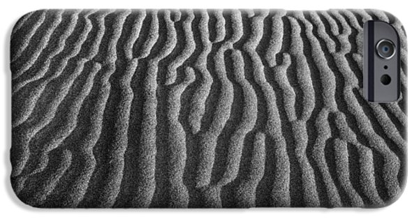 Texture iPhone Cases - Sand Dune 9330b iPhone Case by Jeff Grabert