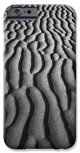 Texture iPhone Cases - Sand Dune 9341b iPhone Case by Jeff Grabert