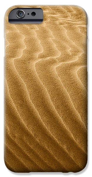 Sand Dune Mojave Desert California iPhone Case by Christine Till
