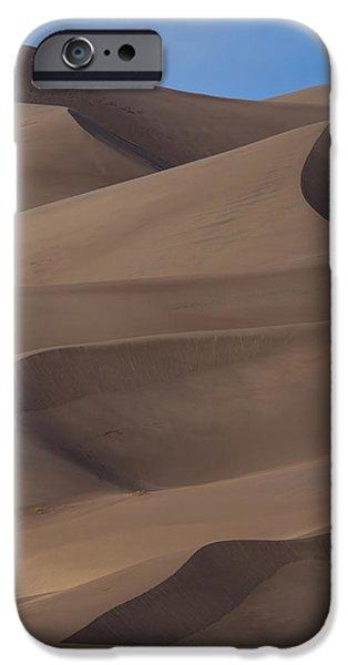Sand Dunes iPhone Cases - Sand Dunes iPhone Case by Noah Bryant