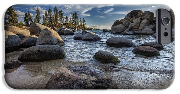 Lake Tahoe iPhone Cases - Sand Harbor II iPhone Case by Rick Berk