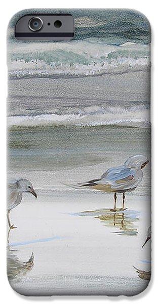 Sandpipers iPhone Case by Julianne Felton