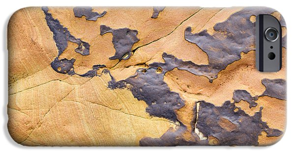 Sandstone iPhone Cases - Sandstone Erosion  iPhone Case by Tim Gainey