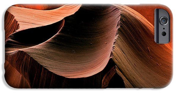 Red Rock Photographs iPhone Cases - Sandstone Melody iPhone Case by Mike  Dawson