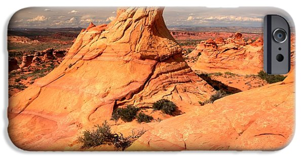 Surreal Landscape iPhone Cases - Sandstone Pastels iPhone Case by Adam Jewell