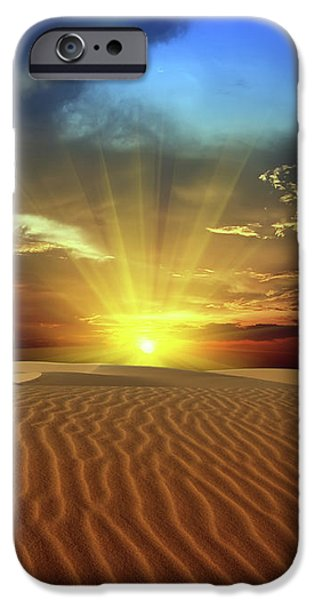Sandy desert iPhone Case by MotHaiBaPhoto Prints
