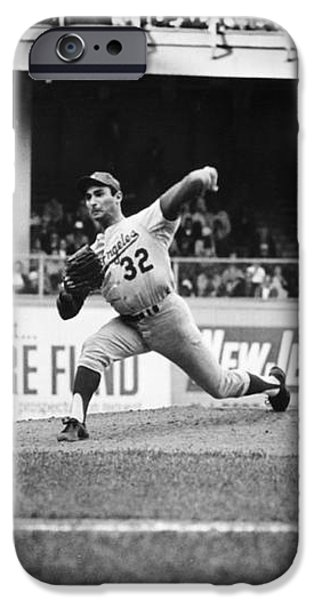 SANDY KOUFAX (1935- ) iPhone Case by Granger