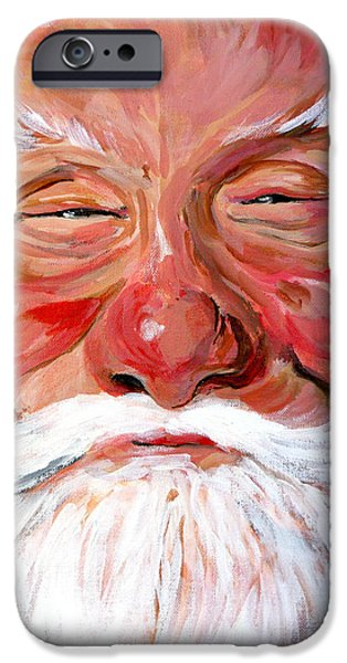 Santa Claus iPhone Case by Tom Roderick