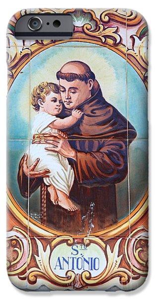 Santo Antonio de Lisboa iPhone Case by Gaspar Avila