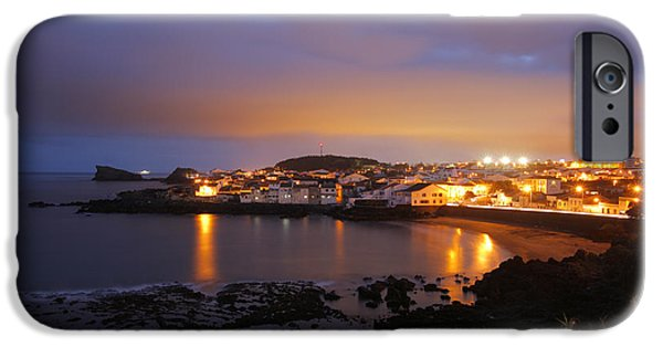 Village By The Sea iPhone Cases - Sao Roque - Azores iPhone Case by Gaspar Avila