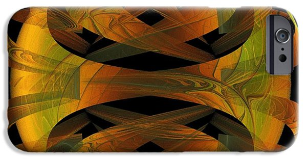 Disc iPhone Cases - Scarab iPhone Case by Amanda Moore