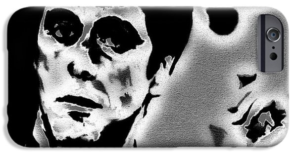 Drug Traffickers iPhone Cases - Scarface 3a iPhone Case by Brian Reaves