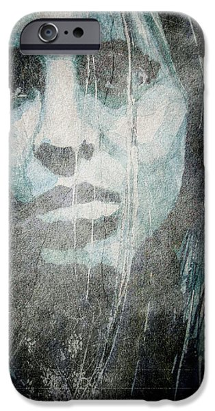 Loss iPhone Cases - Scarred for Life iPhone Case by Paul Lovering