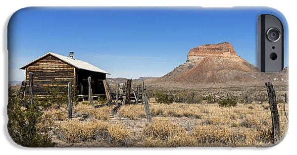 Recently Sold -  - Shed iPhone Cases - Scenic Big Bend National Park in Texas iPhone Case by Mountain Dreams