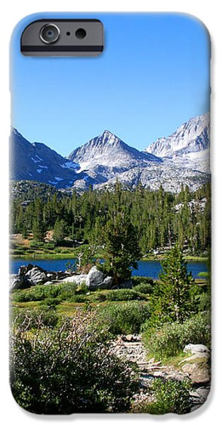 Scenic Mountain View iPhone Case by Chris Brannen
