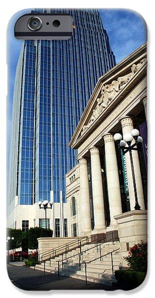 Nashville Architecture iPhone Cases - Schermerhorn Symphony Center Nashville iPhone Case by Susanne Van Hulst