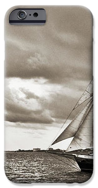 Schooner Pride Tallship Charleston SC iPhone Case by Dustin K Ryan