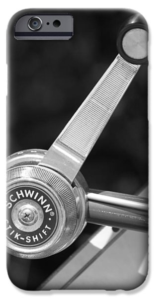 Schwinn Stik-Shift iPhone Case by Lauri Novak