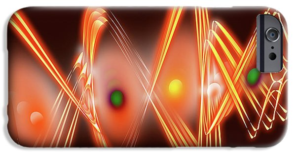 1950s Movies Digital iPhone Cases - Science Fiction iPhone Case by Anthony Caruso