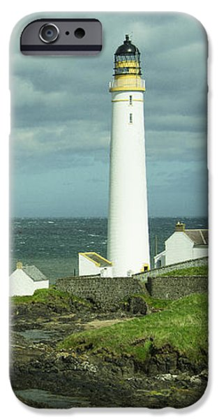 North Sea iPhone Cases - Scurdie Ness Lighthouse iPhone Case by Rob Hawkins