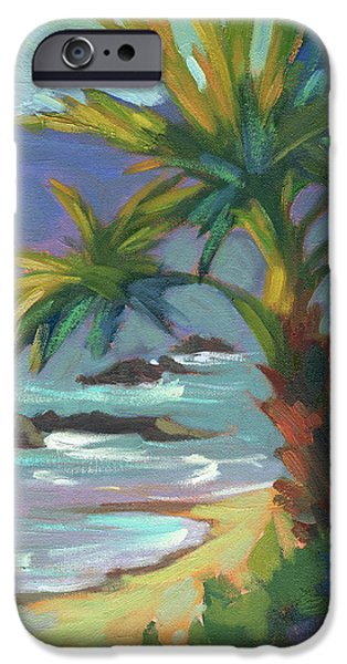 Beach iPhone Cases - Sea Breeze iPhone Case by Diane McClary