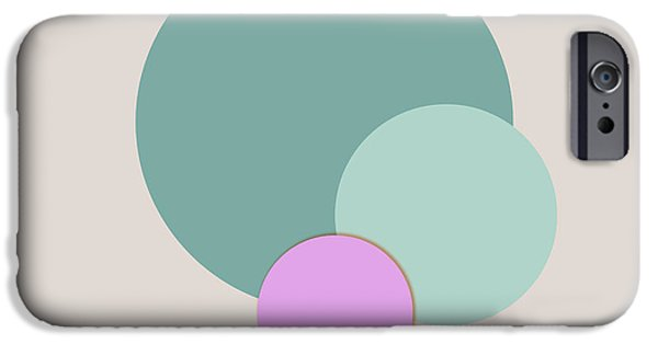 Coastal Decor Digital iPhone Cases - Sea Glass Colors iPhone Case by Jacquie Gouveia