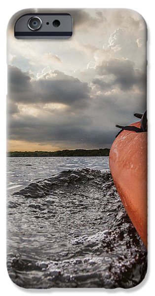 Mangrove Forest iPhone Cases - Sea Kayaking iPhone Case by Ben Adkison