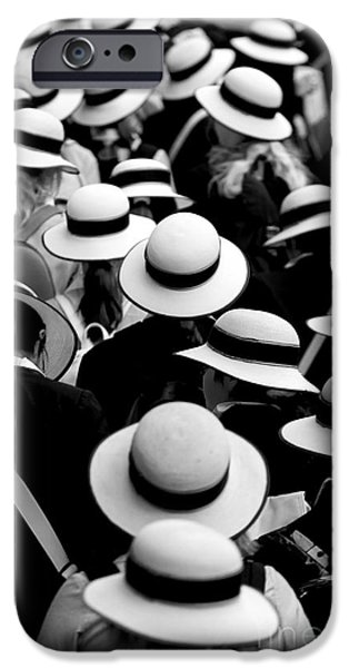Mother iPhone Cases - Sea of Hats iPhone Case by Sheila Smart